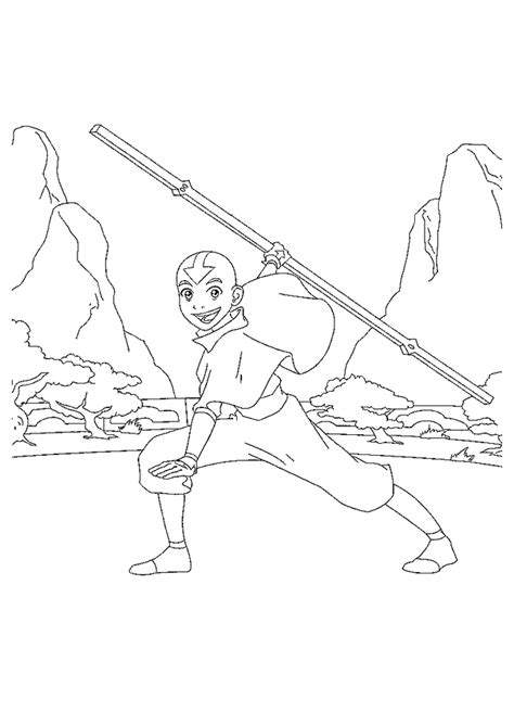 avatar coloring pages coloringpagesabc com