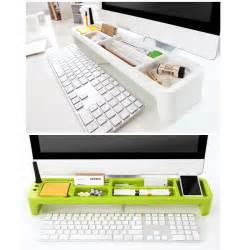 Desk Stationery Organizer Monitors Desktop Organizer Box Desk Storage Holder Stationery Organizer Tray Ebay