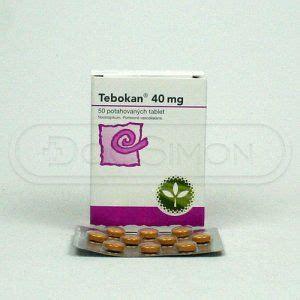 Tebokan 40 Mgtablet zkušenosti tebokan 40 mg 50 tablet srovname cz