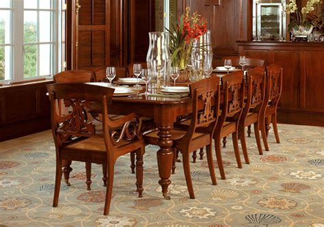 Thomasville Dining Room eric jacobsen furniture maker caribbean dining table