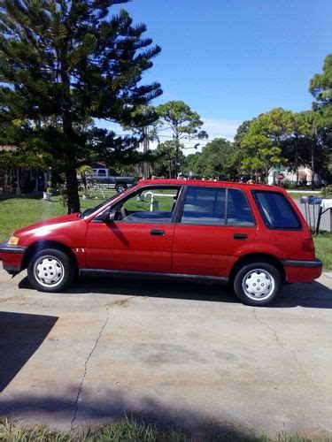 buy used 91 honda civic wagon 4wd 6spd manual in