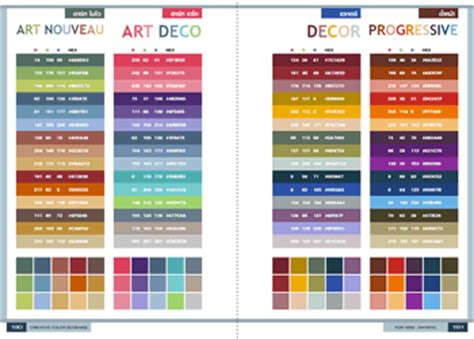 creative color schemes paperback book 4 color offset print cmyk