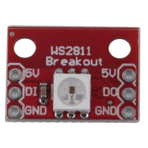 Ws2811 Rgb Led Breakout Module new ws2812 rgb 5050 led breakout module for arduino be ebay