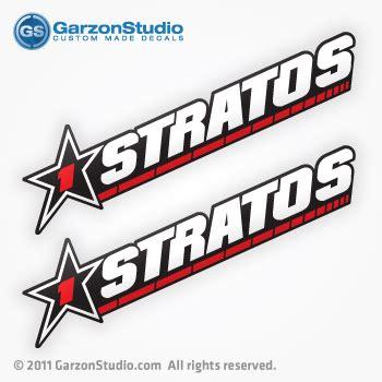 stratos boat wax 1 star stratos vinyl decals garzonstudio
