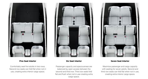 tesla 3rd row seats tesla model x in 7 seat configuration finally gets fold