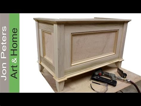 blanket chest toy chest  jon peters youtube