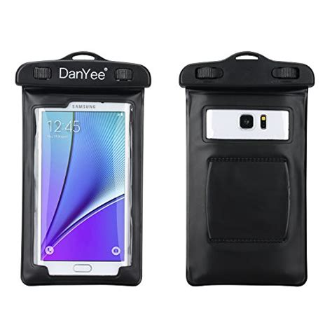 Waterproof Bag For Smartphone Up To 5 5 Pouch Anti Air Lock danyee universal waterproof snowproof dirtproof bag for iphone 5s 5c 5 4s samsung galaxy
