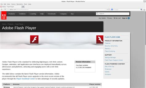 adobe flash player adobe flash player for macbook air 2013
