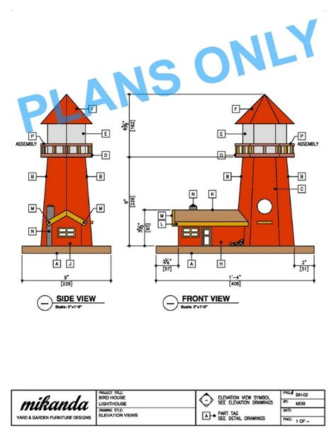 lighthouse woodworking plans free pdf plans woodworking projects lighthouse deck