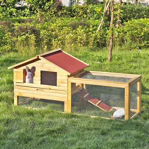 paula conejera ikayaa 62 quot large outdoor wooden chicken coop waterproof