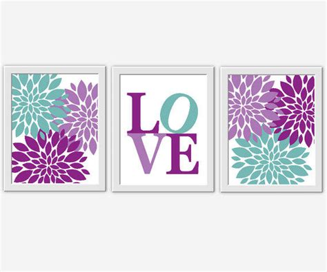 Baby Girl Nursery Wall Art Purple From Dezignerheartdesigns On Purple Nursery Wall Decor