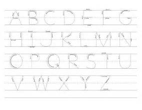 Alphabet Letter Tracing Templates by Letter Tracing Sheets Printable Activity Shelter