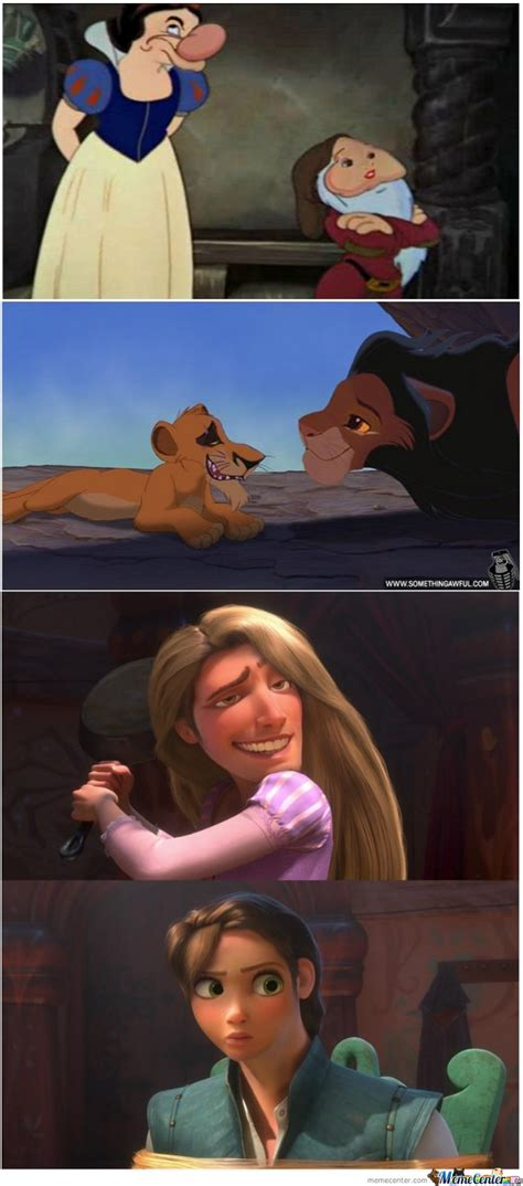 Face Switch Meme - disney face swapping by darkknight1 meme center