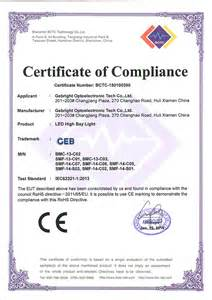 Rohs Compliance Certificate Template by Pin Rohs Certificate Of Compliance On