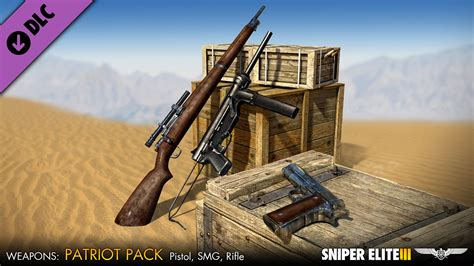 save 80 on sniper elite 3 on steam save 50 on sniper elite 3 patriot weapons pack on steam