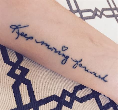 tattoo quotes about moving forward in life pinterest the world s catalog of ideas