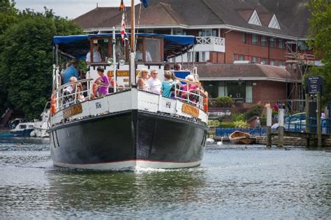 thames river boat accommodation summer boat trips with the caversham princess picture of