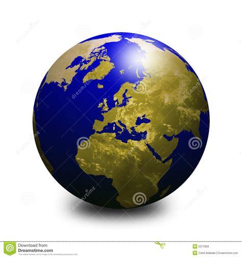 le pi禮 mondo globo 2 mondo illustrazione di stock