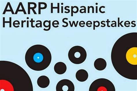 Aarp Sweepstakes Entry - aarp hispanic heritage sweepstakes sweepstakesbible