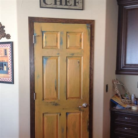 Painted Pantry by Painted Pantry Door For The Home