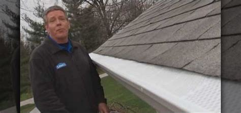 how to install gutter screens with lowe s 171 construction