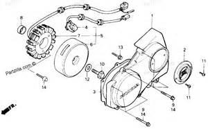Honda Cycle Parts Honda Motorcycle Parts 1986 Cmx450c Ac Left Crankcase