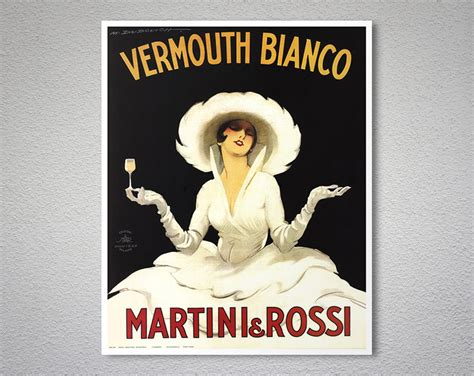 martini and rossi poster vermouth bianco martini and rossi vintage food drink