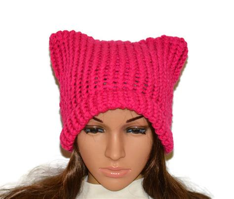 Dodgers Knit Cap Giveaway - ear hat knitted hat pink hat online