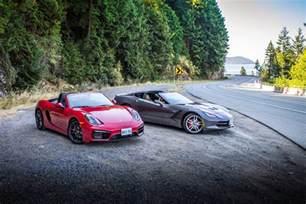 Porsche Vs Corvette 2015 Chevrolet Corvette Stingray Vs Porsche Boxster Gts
