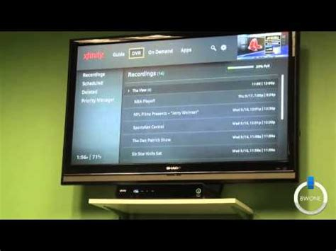 beating comcast and cable fees with the hd comcast xfinity x1 box review doovi