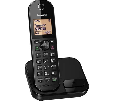 Panasonic Cordless Telephone Wireless Kx Tgf374 buy panasonic kx tgc410eb cordless phone free delivery currys