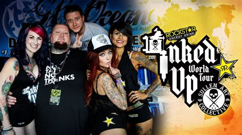 tattoo expo seattle convention coverage rockstar energy miss inked up
