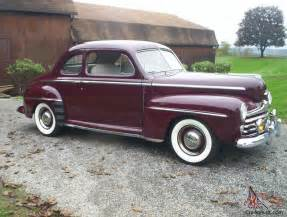 1947 ford deluxe coupe v8 with overdrive excellent
