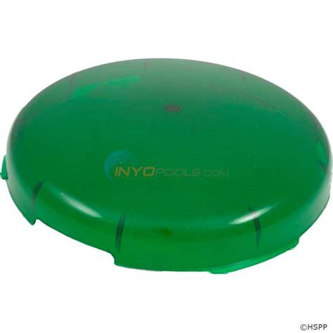 pool light lens cover pentair lens cover kwik change green 78900700