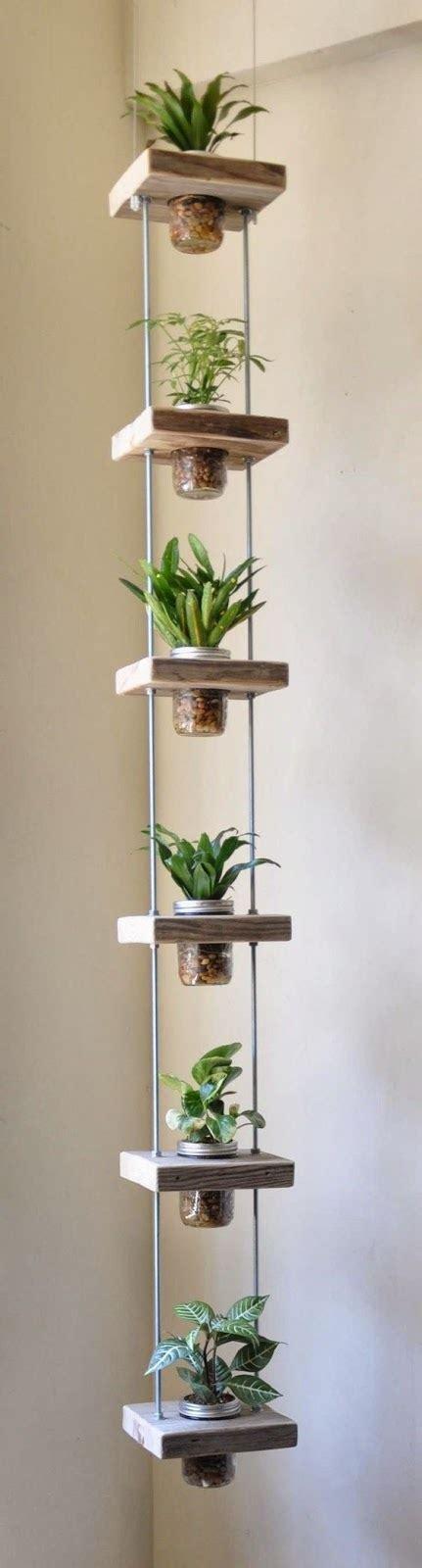 inspiring diy beaming plant shelves ideas
