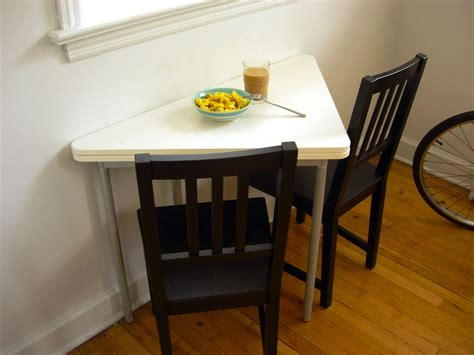 Interesting Folding Tables For Small Spaces Interior The Kitchen Table Restaurant