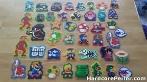 more super mario maker perlers than you can shake a joystick at perler