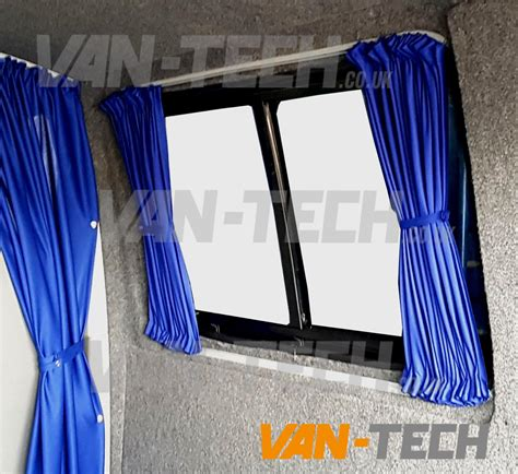 van privacy curtains vw t5 van transporter interior curtain behind driver van