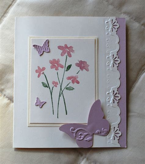Handcrafted Card - handmade card butterfly s day birthday wedding