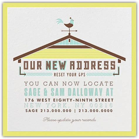 free change of address cards templates we re moving change of address cards free printables