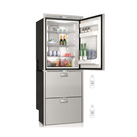 frigoriferi a cassetti dw360 btx compartimento superiore frigo e compartimento