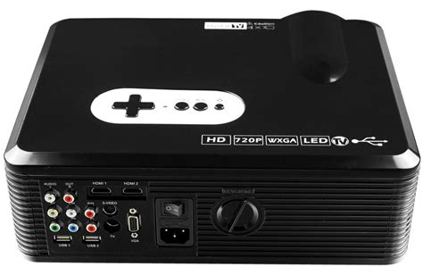 Tv Tuner Untuk Projector cl720 led projector features 720p output and tv tuner for