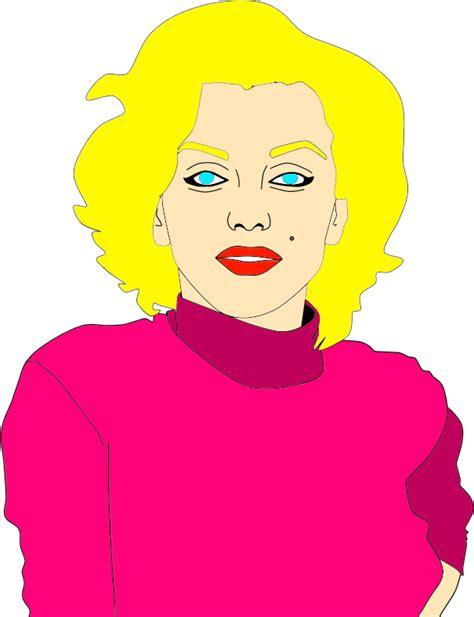 clipart illustrations clipart marilyn illustration