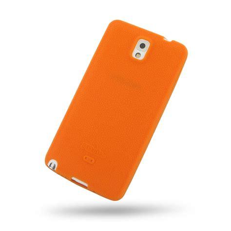 Softcase Samsung Note 3 samsung galaxy note 3 luxury silicone soft orange pdair