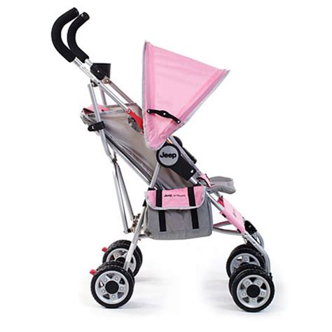 Jeep Lightweight Umbrella Stroller Jeep All Weather Umbrella Stroller Pink