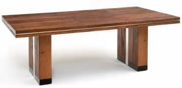 Contemporary Wood Dining Tables Contemporary Wood Dining Table Modern Style Custom Sizes