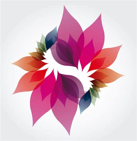 design without background colorful petals spiral background design graphics free