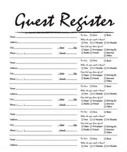 open home register template sle open house sign in sheet 10 documents in pdf