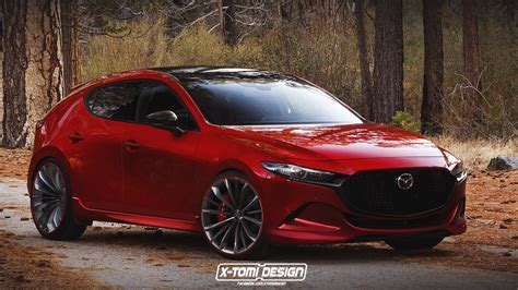 2020 Mazda 3 Hatch by 2020 Mazda3 Mps Mazdaspeed3 Rendering Is A