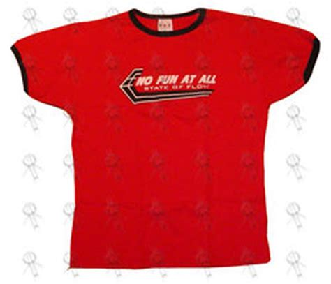 Flow Cloth T Shirt Elok Original no at all state of flow bonds ringer style t